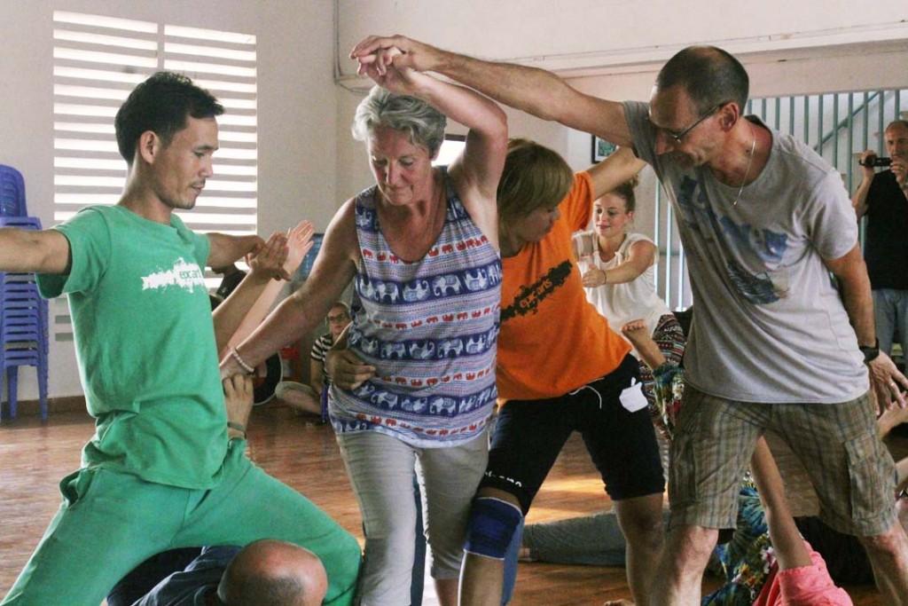 Team Bonding through Dance at Epic Arts