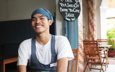 Phoun's story: How art creates self-confidence